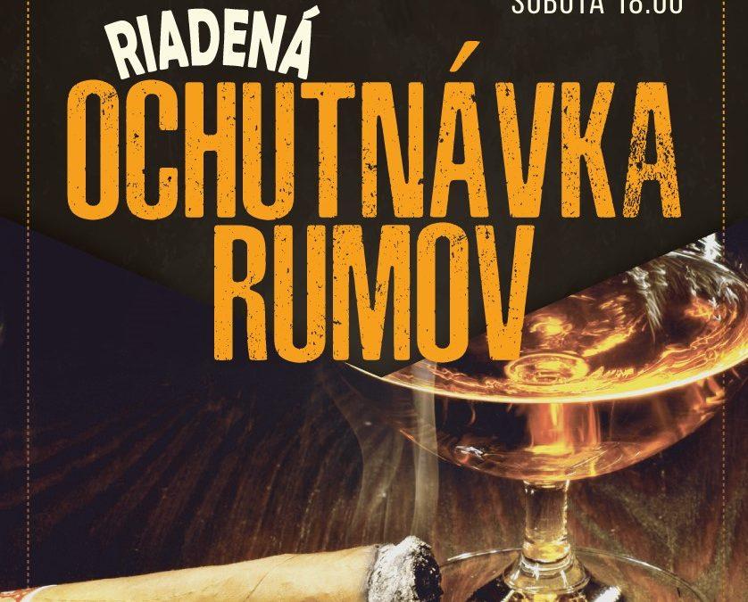 PRIPRAVILI SME – I. Ročník ochutnávky Rumov a Cigár